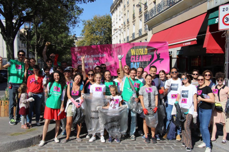 World CleanUp Day 2020 : opération